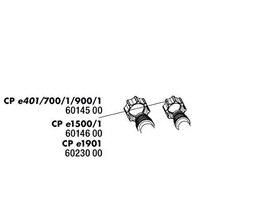 JBL Cristal Profi e Ersatzteil - 2x Überwurfmuttern Schlauchanschluss - Cristal Profi e700/1-e900/1 (Art-Nr. 6014500)