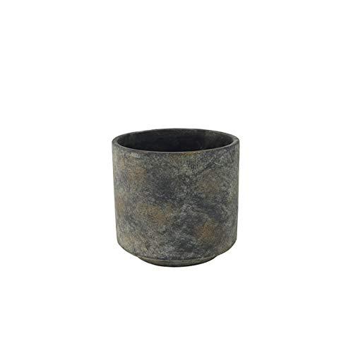 TS Indoor Pot de fleurs Saar - D16 cm - Gris foncé