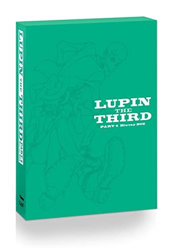 【メーカー特典あり】ルパン三世 PART4 Blu-ray BOX〔オリジナルステッカー付〕