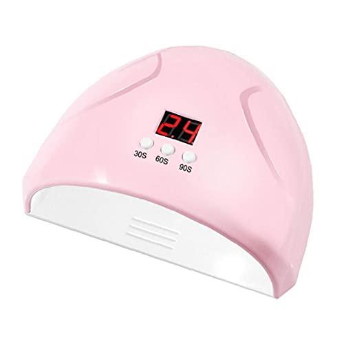 NiceJoy Nail LED de Color Rosa de Clavo 36W Inteligente Inducción Secadora 3 Modos de Secado rápido del Gel Pulido secador UV de la lámpara de Tratamiento de la máquina de uñas
