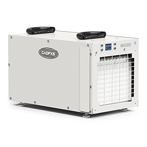 CADPXS AppleAiro 180 Pint CrawlSpace Dehumidifier with Pump & Drain Hose, Whole Homes up to 2,300 sq.ft, Large Industrial Water Damage Equipment for Basement, Garage & Commercial Spaces and Job Sites