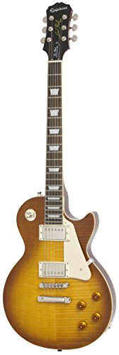 Epiphone Limited Edition Les Paul Standard Plustop PRO Electric Guitar, Iced Tea