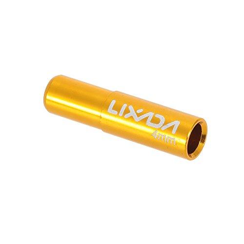 Lixada 10pcs 4mm / 5mm Bicicleta Desviador Cambio Freno Cable Final Tapa...