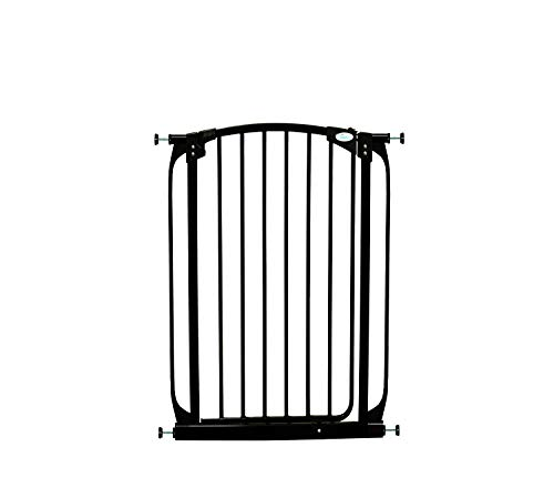 Dreambaby Auto-Close Chelsea Xtra-Tall Safety Gate (Fits 71cm-80cm) Black