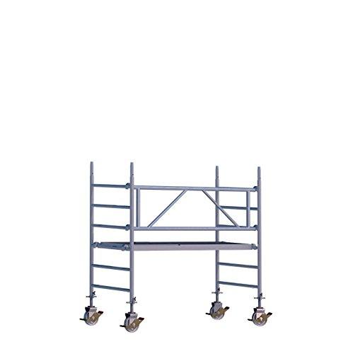 Fahrgerüst Rux Mobilo Indoor Plus Arbeitshöhe 3 m Bühnenlänge 2,1 m