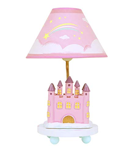 Princess Table Lamp for Girls Bedroom