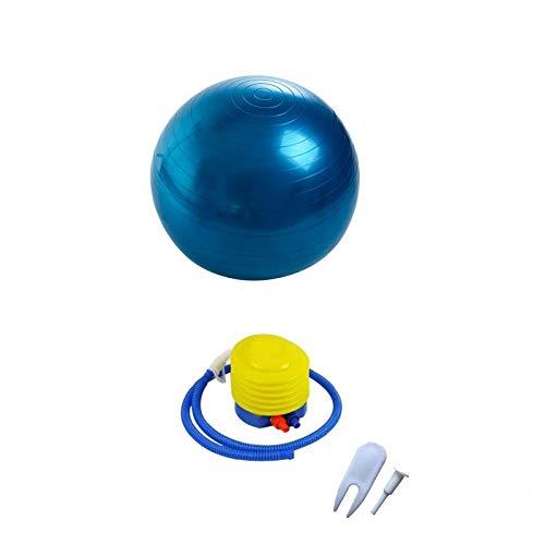 Lumanby Pelota de yoga para ejercicio y fitness, pelota suiza de yoga, pelota de masaje, para el hogar y el gimnasio.