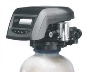 Metered water softener with 3/4' Autotrol 255/762 Logix control, 48,000 grain capacity with by-pass valve
