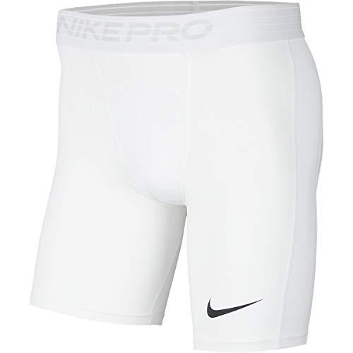 NIKE M NP Short Pantalones Cortos de Deporte, Hombre, White/(Black)