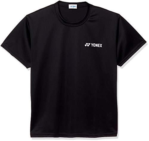 [ヨネックス] 半袖シャツ UNIドライシャツ メンズ ブラック (007) 日本 L (日本サイズL相当)