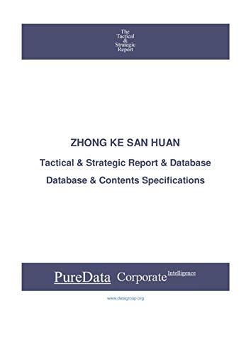 ZHONG KE SAN HUAN: Tactical & Strategic Database Specifications (Tactical & Strategic - China Book 43806) (English Edition)
