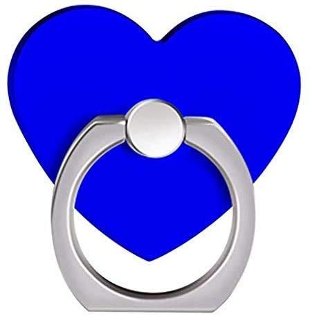 MuStone Soporte para anillo de teléfono móvil, soporte para anillo de teléfono celular, soporte de anillo de teléfono en forma de corazón