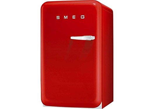 Smeg FAB10HLR Independiente 130L A+ Rojo - Frigorífico (130 L, SN-T, 37 dB, A+, Rojo)
