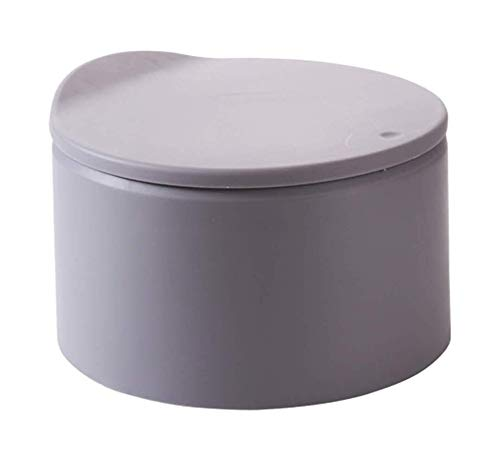 JIAHE115 Induction Trash can Ultra-Slim Desktop Mini Bins, Plastic Bucket lid Trash wastepaper...