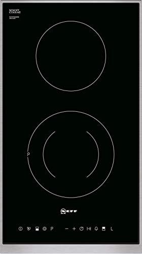 Neff NTD1326N Noir, Acier inoxydable Intégré (placement) Plaque avec zone à induction 2 zone(s)