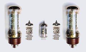 Jellyfish Audio kit de válvula 6L6para amplificadores de guitarra Fender Super 60