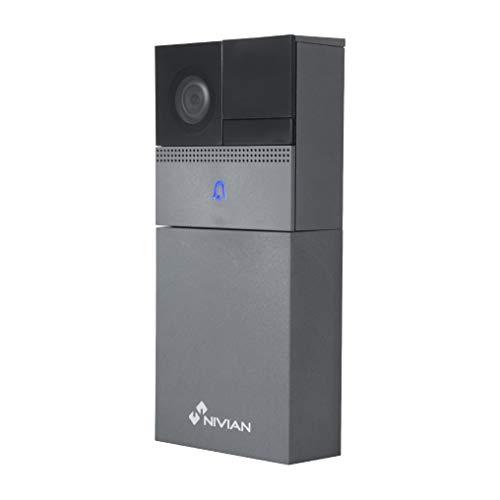 Nivian video Doorbell inteligente 720P–Wifi 2.4Ghz- Visión...