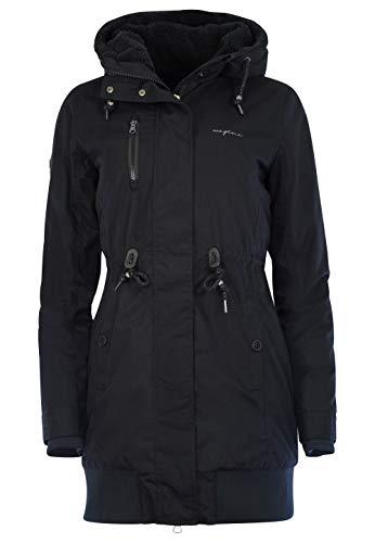 mazine Damen Winterparka Chelsey schwarz XL