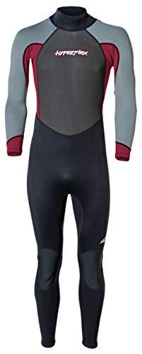 Hyperflex Access Men's and Women's Full Body 3mm Backzip Wetsuit - Warm 4-Way Stretch Neoprene -...