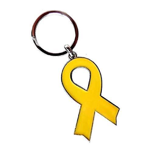 Llavero de cinta amarilla símbolo independentista Catalan
