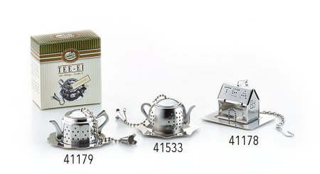 Tee-Ei Kessel aus Edelstahl
