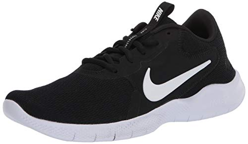 Nike Women's Flex Experience Run 9 Shoe, Black/White-Dark Smoke Grey, 7 Regular US