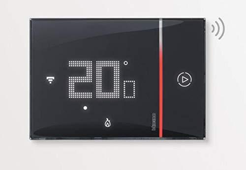 Bticino - Termostato WiFi inteligente Smarther2 with Netatmo XG8002, empotrado, negro – versión profesional