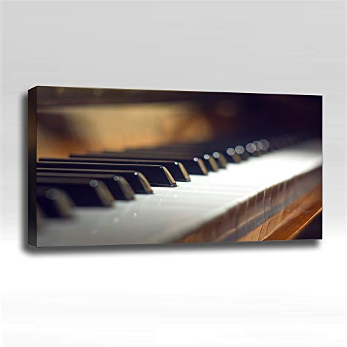 Old Piano - Ready Made 4'x2'x2' Acoustic Art Panel : Includes all Mounting Hardware.