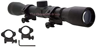 4x32 Scope with Mounting Ring Kits