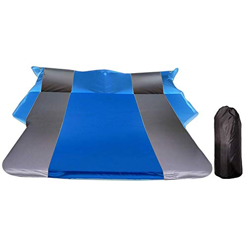 Esplic Car Automatic Air Mattress - Portable SUV Car Back Seat Trunk Travel Inflatable Air Bed - Universal Outdoor Camping AirBed