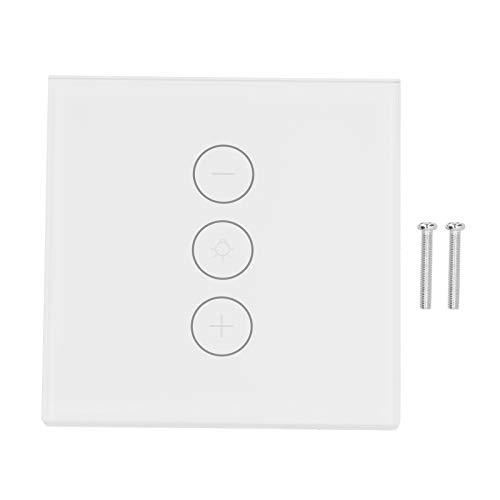 Control de ventilador de techo inteligente, interruptor de luz inteligente WiFi, enchufe de la UE 100-240 V CA para oficina de ventilador en casa