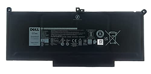 Dell Latitude 7280, 7480 60WHr 4-Cell Primary Battery DM3WC F3YGT 451-BBYE