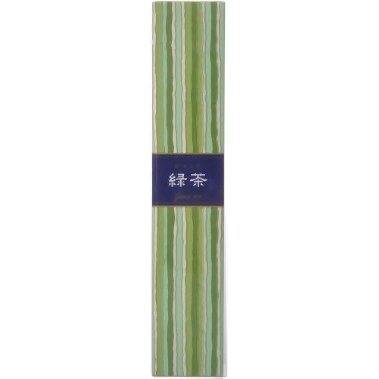 入口夕方描写かゆらぎ スティック 緑茶40本 × 5個セット