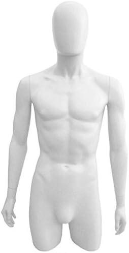 3 pcs Plastic Female Mannequin Torso Dress Form #PS-FP119BK-3PC