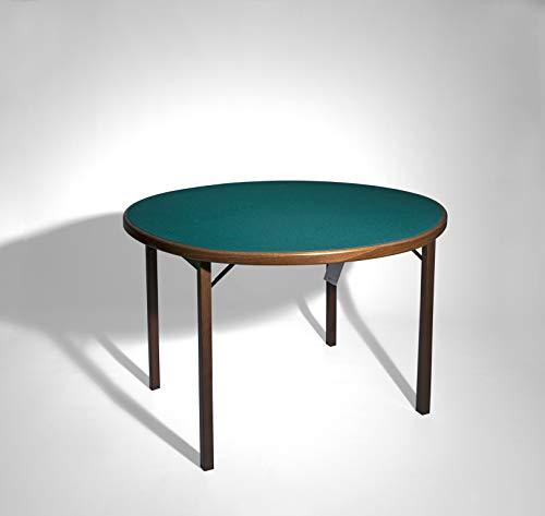 Del Fabbro 1 Spieltisch, klappbar, Walnuss lackiert, Keine