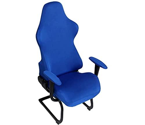 Funda Universal para Silla de Ordenador de Juego/Carreras,Cubre sillas Gaming,Funda Protectora de sillas ergonómicas,Funda Lavable para Silla,Funda de Silla de Oficina(no Incluye la Silla).