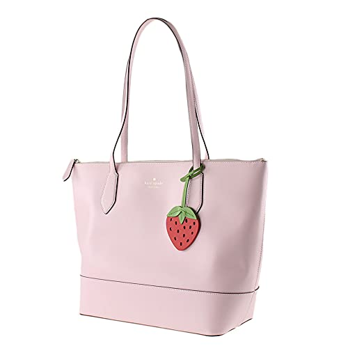 Kate Spade New York Braelynn Tote Shoulder Bag with Strawberry in Pink
