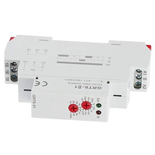 AC Relay, CA 220V GRT8-B1 Mini Apagado Tipo Tiempo de retardo del temporizador Relay carril DIN