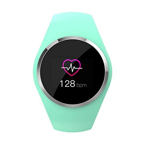 OOLIFENG Fitness Tracker, Activiteit Horloge Waterdichte IP67 met Hartslagmeter Smartwatch voor Kinderen Vrouwen Bel SMS SNS Kennisgeving