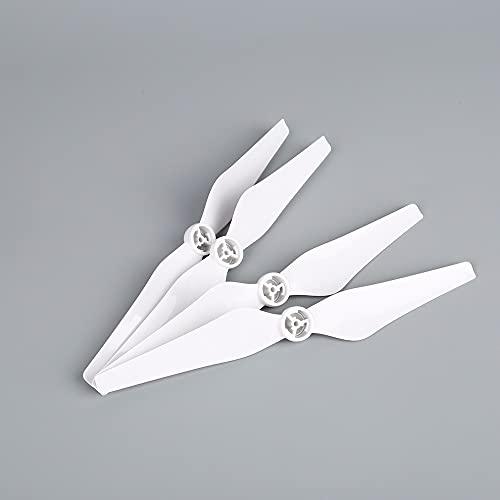 Elica del Drone 8pcs 9450s.Elica/Adatta for DJI.Phantom 4 PRO Drone Smontaggio rapido Blades Sostituzione di Oggetti di Ricambio con Pezzi di Ricambio di Base (Color : White)