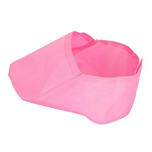 【𝐕𝐞𝐧𝐭𝐚 𝐑𝐞𝐠𝐚𝐥𝐨 𝐏𝐫𝐢𝐦𝐚𝒗𝐞𝐫𝐚】 Suministros de Limpieza para Lavar, Cubierta Rosa para bozal para Gatos, Cubierta para Ojos de Gato para Mascotas, Boca para Ojos para Mascotas(S)