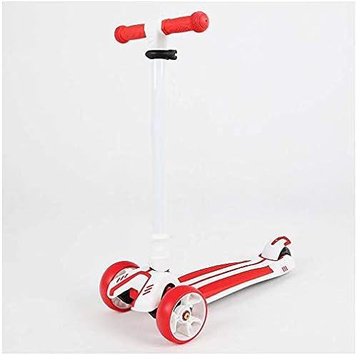 Roller der Kinder faltender Blitzpedalrollerlenker-Aufzugscooter