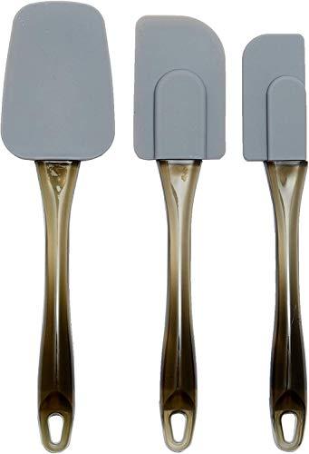 AmazonBasics - Espátulas de silicona - Set de 3 piezas