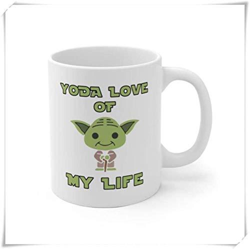 N\A - Taza Divertida, Star Wars, para él, para Esposo, Star Wars, para Novio, para su día de San Valentín, Taza de café de cerámica de 11 oz/Taza/vajilla, Alto Brillo 55JXVA