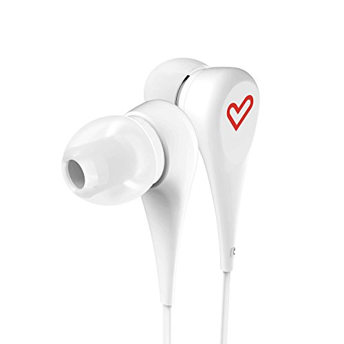 Energy Sistem Earphones Style 1 White (Auricular intrauditivo, Cable Plano) Blanco