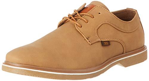 XTI 43988, Zapatos de Cordones Derby Hombre, Marrón (Camel Camel), 41 EU