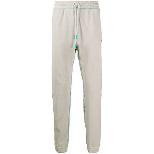 MARCELO BURLON Luxury Fashion Uomo CMCH010E20FLE0046143 Grigio Cotone Joggers | Autunno-Inverno 20
