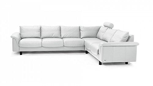 Prima Clever einrichten® Stressless E300 luxe hoekbank groot wit voordelig