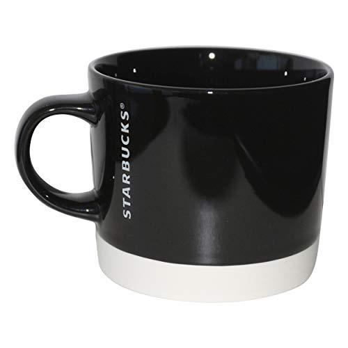 Starbucks Mug Black Dipped Collectors Mug Tasse schwarz Weiss