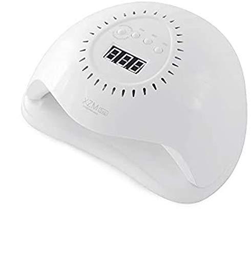 Lámpara de uñas LED UV de 168 W, secador de uñas profesional, luz de uñas UV con 4 ajustes de temporizador/sensor automático/pantalla LCD/un juego de herramientas de manicura extra